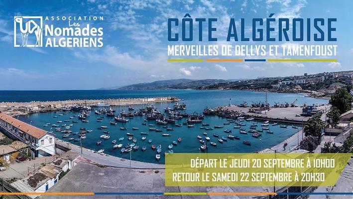 Côte Algéroise : Merveilles de Dellys et Tamenfoust