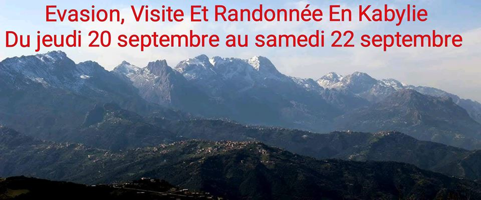 Evasion, Visite Et Randonnée En Kabylie