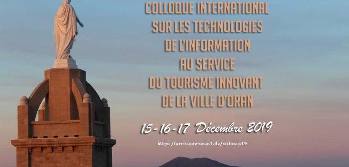 CITI ORAN19, pour la promotion du tourisme.