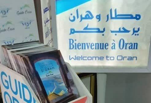 Le Guide Oran à l'aéroport Ahmed Ben Bella